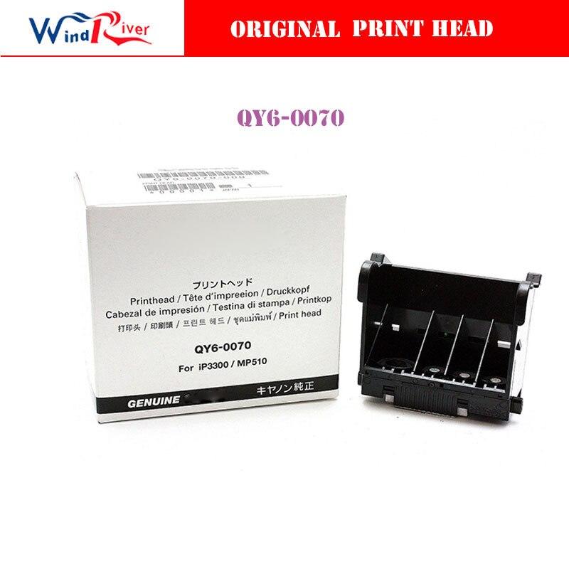 ФОТО NEW Original QY6-0070 Printhead Print head For Canon IP3500 IP3300 MX700 MP510 Printer head