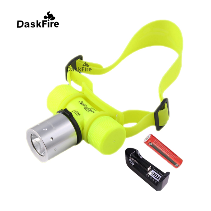 DaskFire Underwater 50M 5000LM CREE XML T6 LED Diving Flashlight Torch Lamp with 18650 Battery and Charger sitemap 54 xml