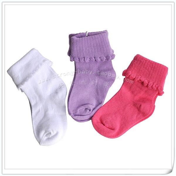100% cotton baby socks baby socks princess baby socks thread white