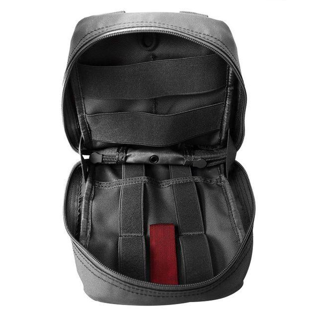 Sac de taille tactique extérieur | Sac de taille tactique dextérieur, multifonctionnel EDC Molle, pochette à outil, sac à fermeture éclair pour ceinture, accessoire pochette de ceinture Durable 2018