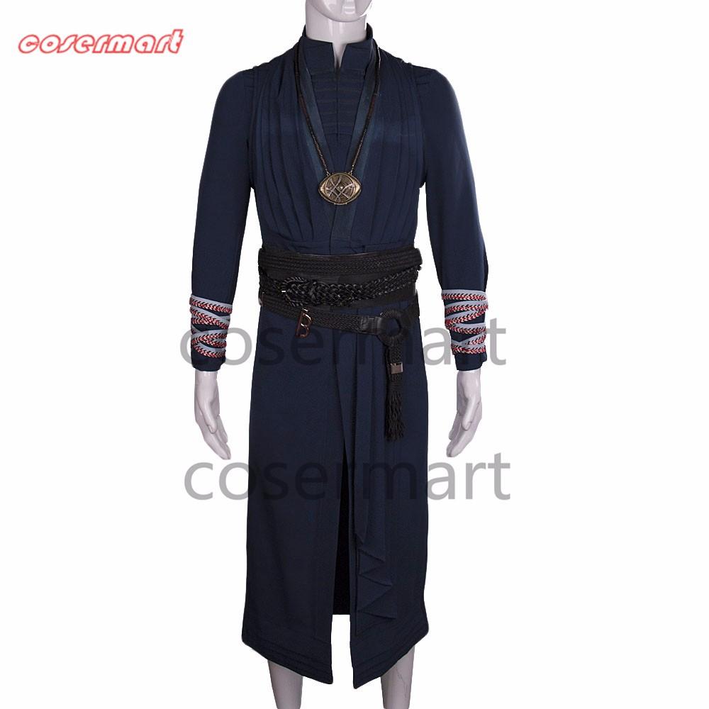 2016 Marvel Movie Doctor Strange Costume Cosplay Steve Full Set Costume Robe Halloween Costume (11)_