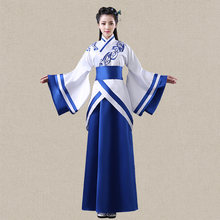 Top Grade Luxury Dance costume Hanfu embroidered Royal Fairy Womens Costume Chinese ancient clothes Cos clothing(China)