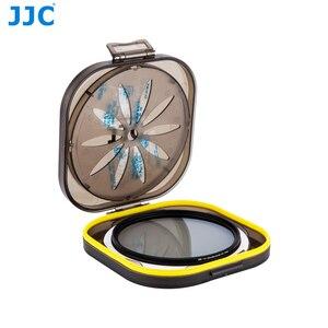 Image 1 - JJC 카메라 UV CPL 케이스 렌즈 필터 보호기 방수 37/40. 5/43/46/49/52/58/62/67/72/77/82mm 필터 방습 상자