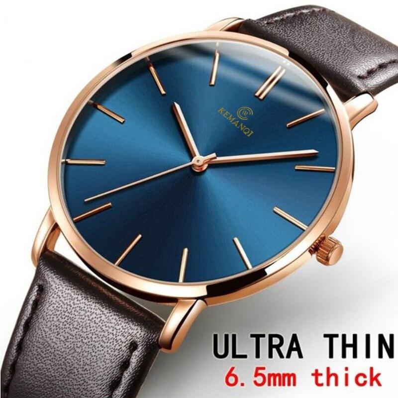 Fashion Mens Watches Top Brand Luxury Quartz Watch Men Casual Slim Mesh Steel Waterproof Sport Watch Relogio Masculino