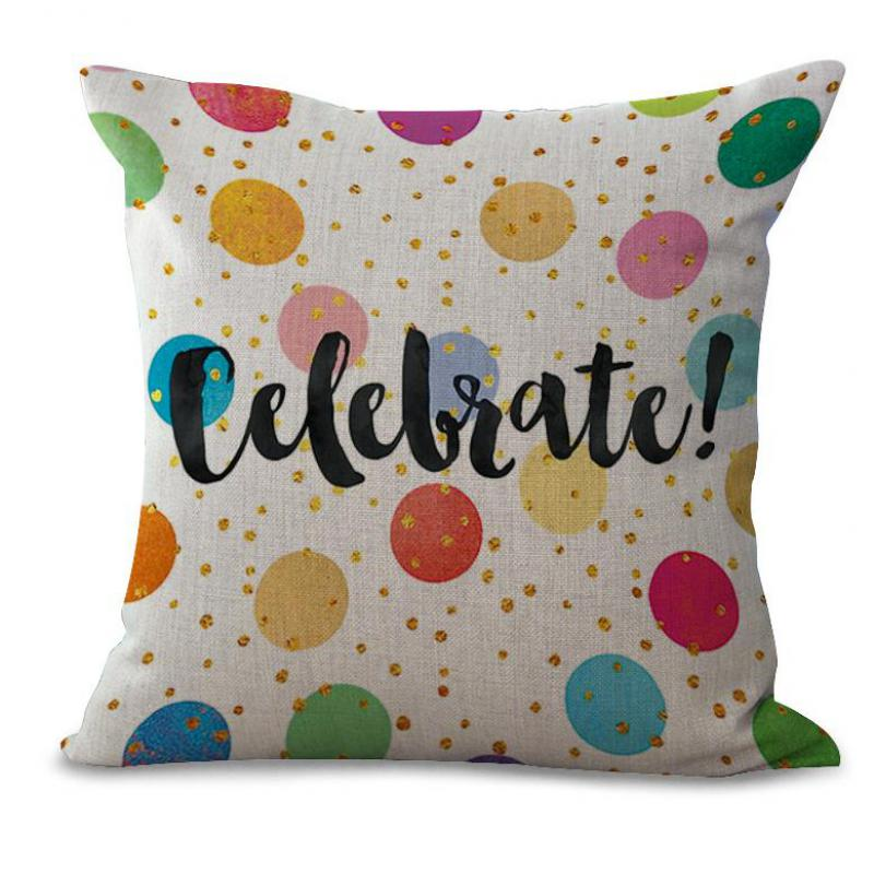 Factory Direct Supply Cartoon Wave Letters Printed Decorative Throw Pillow  Home Sofa Chair Cushion For Kids Gift In Cushion From Home U0026 Garden On ...