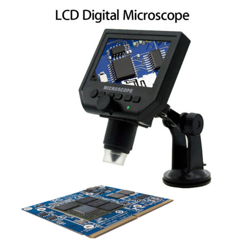 BOBLOV G600 Digital Microscope Camera 1-600X 4.3 LCD Electronic Protable Video Microscope 1080p LED Endoscope Magnifying Camera 600x portable 4 3inch hd oled display lcd digital video microscope magnifying glass with 8 led light