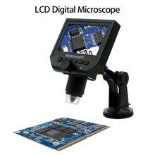 Promo offer BOBLOV G600 Digital Microscope Camera 1-600X 4.3″ LCD Electronic Protable Video Microscope 1080p LED Endoscope Magnifying Camera