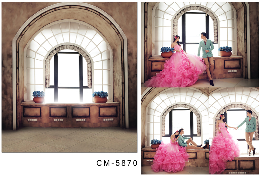 Customize vinyl cloth print 3 D  wedding flower house wallpaper photo studio background for lovers photography backdrops CM-5870 customize vinyl cloth print 3 d night city scenery wallpaper photo studio background for portrait photography backdrops cm 5883