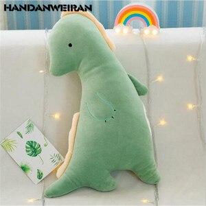 Популярные забавные плюшевые игрушечные мини динозавры, милый мультфильм, пара, мягкая игрушка-динозавр, мальчики, девочки, день рождения д...