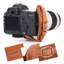 Selens Leather Camera Hand Grip belt for Canon Nikon Sony Olympus DSLR
