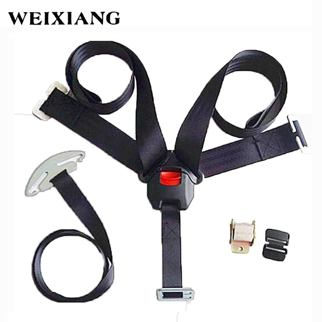 5 Points Harness Baby Car Seat Safety Belt Child Seat Belts For Children Car Seats Kids
