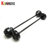 KEMiMOTO For YAMAHA MT 09 TRACER MT09 MT 09 Front And Rear Axel Crash Mushrooms Protectors