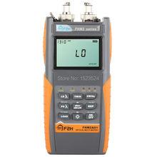 Fhm2a01 fibra óptica multímetro medidor de potencia óptica fuente de luz óptica 1310 / 1550nm