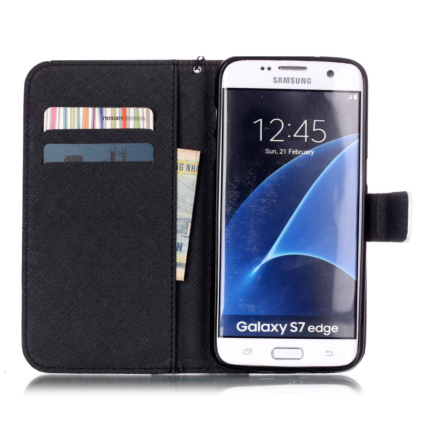 Phone Leather Cover for Samsung S 7 edge 7edge G935F SM G935F Flip Case for Samsung Galaxy S7 Edge s7edge G935FD SM G935FD Bags in Flip Cases from