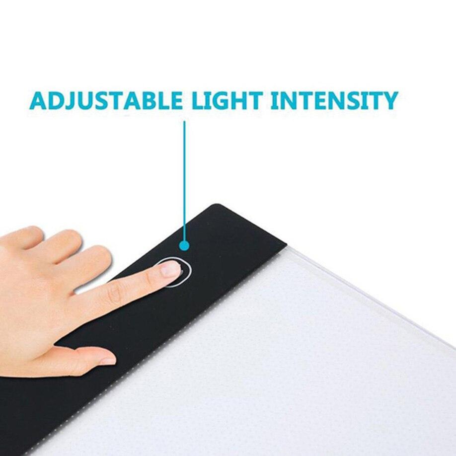 Luzes da Noite desenho traçado luz pad portátil Fonte de Luz : Lâmpadas Led
