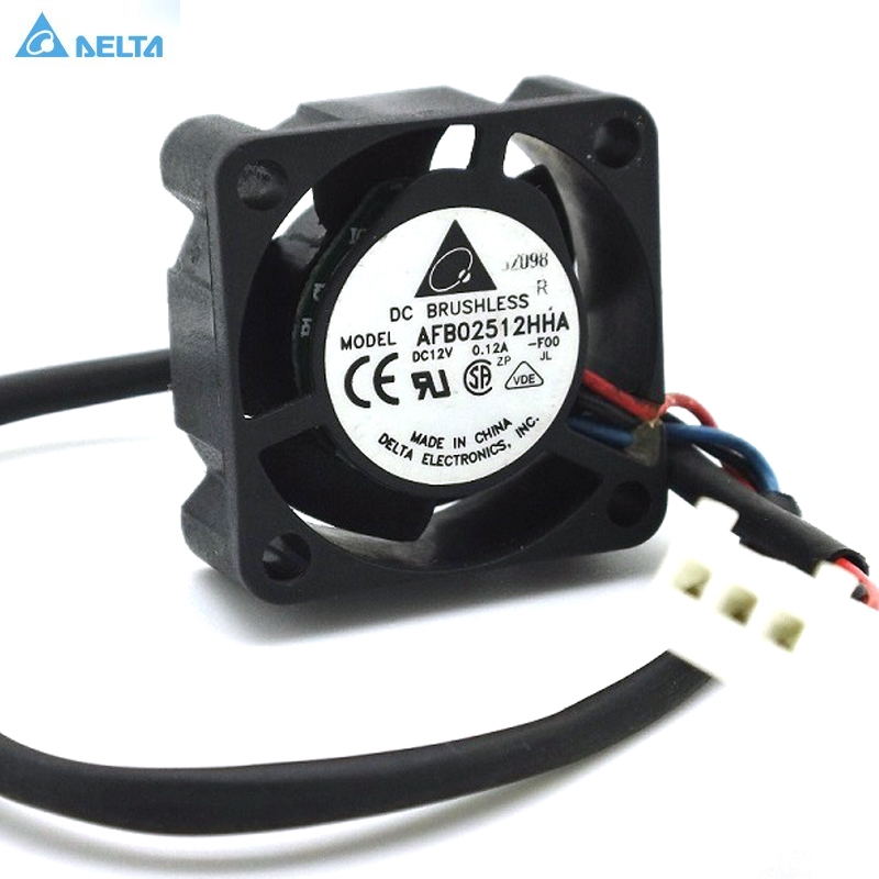 Купить с кэшбэком for delta AFB02512HHA 2510 12V 0.12A for SUN 370-5126 V240 V210 P/N:3705126-01 cpu cooler heatsink axial Cooling Fan