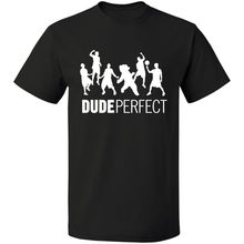 Retno Logo Dude Perfect T Shirt Vintage S-3XL Free Shipping MEN T-SHIRT Round Collar Short Sleeve Tee Shirts Top Tee цена 2017