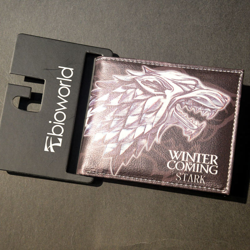 Free Shipping Comics Dc Game of ThronesThe coat of arms Logo Purse,Credit Card Holder Cartoon Wallets