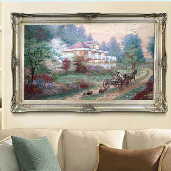 The sitting room decoration exquisite tapestry- go home scenic mural 138*100CM