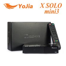 1 unid X SOLO MINI Receptor de Satélite 3 1200 MHz Dual DMIPS DVB-S2 procesador 4 Gb Serial Flash 1 GB DDR3 + DVB-T2/C X solo mini 3
