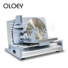 Полуавтоматический слайсер электрический мясо легкий быстрый легкий для того чтобы очистить регулируемой толщиной один-кнопка включения лезвия из нержавеющей стали