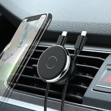 Magnetic Car Holder For iPhone XS Samsung Mobile Phone