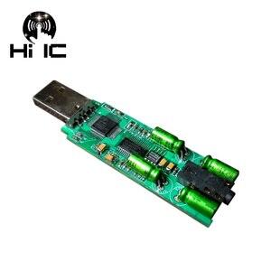 Image 3 - CM108 CS4398 TDA1308  USB Portable DAC Amp HIFI External Audio Card Decoder For Amplifier AMP Mobile OTG  Support Optical SPDIF