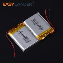 Li-Polymer-Batteries 600mah Lithium-Ion Ce for Wireless Bluetooth-Speaker Bicycle-Flashlight