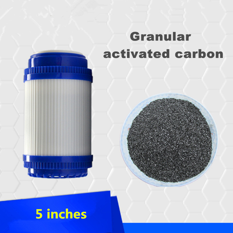 5 inch Water Purifier UDF Granular Activated Carbon Filter Cartridge Taste/Odor Water Filter for Reverse Osmosis