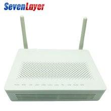 GPON ONU Hs8145C ONT termianl avec 1GE + 3FE + voix + wifi logiciel anglais compatible hG8546M