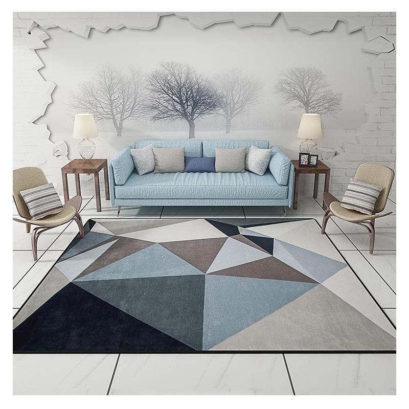 Modern Carpets for living room Rectangle Geometric Area ...