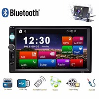 Universal 2 Din Car Radio Bluetooth GPS Navigation 7 HD Car MP5 Player Audio Stereo Multimidia Autoradio USB AUX FM Mirror Link