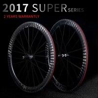 Новый углеродный дорожный велосипед Колеса 23 мм/25 мм ширина 38 мм 50 мм трубчатый довод 12 К к китайский карбоновый велосипед гоночные колеса к
