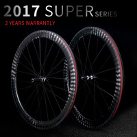 New carbon road bike wheels 23mm/25mm width 38mm 50mm Tubular Clincher 12k chinese carbon bicycle bike race wheels Wheelset