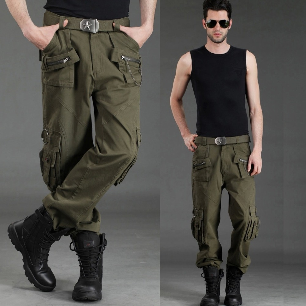 Couple Camouflage Hiking Trousers Outdoor Military Tactical Pants Trousers Large Size Climbing Trousers Lovers Army Hiking Pants