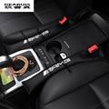 2 pcs AMG logotipo Do Carro plugue ranhura Assento auto acessórios interiores dedicados para Para Mercedes Benz GLK GLA E Nova classe C classSlit tira