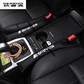 2 unids AMG logo enchufe ranura de accesorios para interiores de automóviles Asiento de Coche dedicado GLA clase E De Mercedes Benz GLK Nuevo C classSlit tira