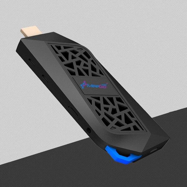 2017 Meegopad T08 MINI PC Intel Atom Cherry Trail x5-Z8350 4G RAM 32G ROM Windows 10 Type-C Computer Stick Wtih Cooling Fan