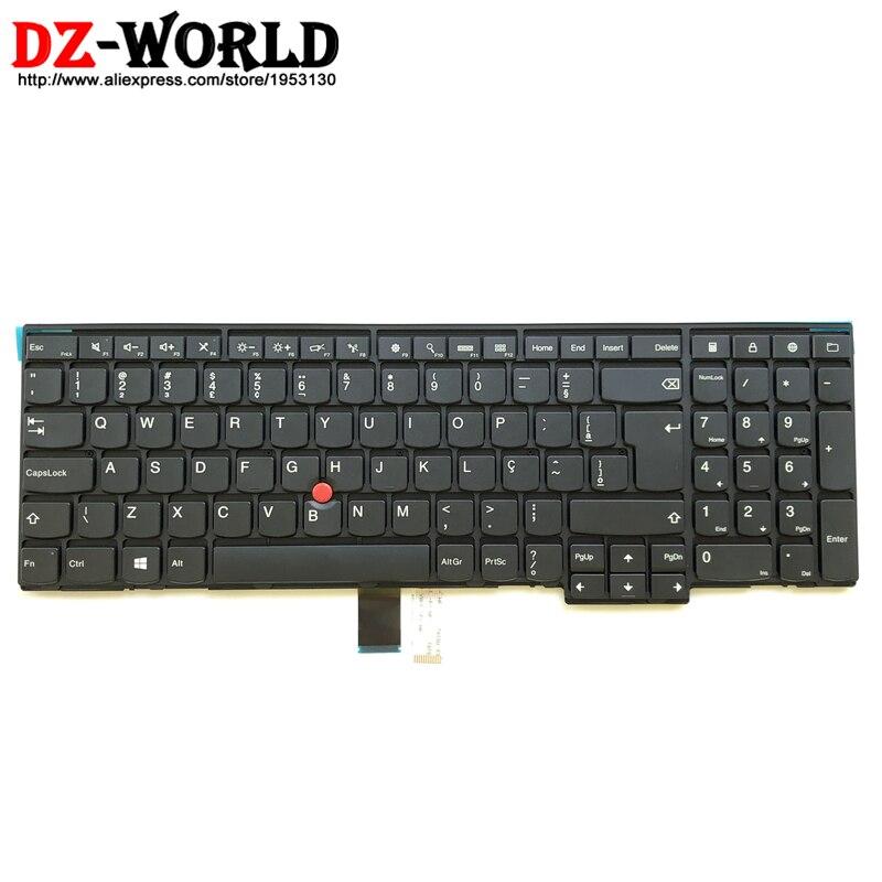 New Orig Brazilian Keyboard Teclado for Thinkpad L540 L560 T540P W540 T550 W550S W541 T560 P50S