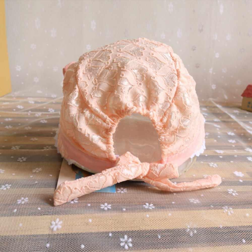 Balita Bayi Gadis Musim Panas Kartun Topi Bayi Peach Hati Percetakan Topi Topi untuk Bayi Yang Baru Lahir Czapka Dziecko Bayi Lucu Beanie