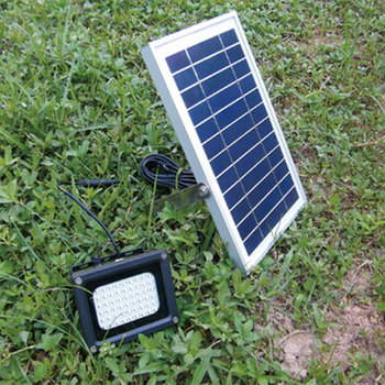 TAMPROAD Impermeable Al Aire Libre Solar Reflector 54 LED Foco Concentrado Solar Bandera Con LED De Luz Con Hardware Para Los Polacos De La Pared De Entrada