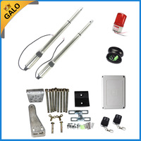 GALO Aluminum Automatic Single Swing Gate Opener moto kits with gate door lock for home Swing Gates or doors
