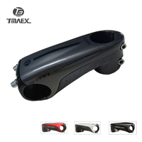 TMAEX New Type Superlight Carbon Stem Road Mountain Bike Stem 80/90/100/110/mm Sliver Stem Bicycle Parts 3K Glossy 145g