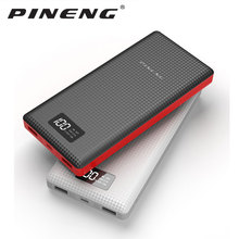 PINENG Power bank PN969  20000mAh Dual USB External Mobile Battery Charger Li-Polymer For phone power bank/ship RU цена