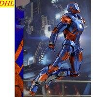 Мстители: Бесконечность ВОЙНЫ ЖЕЛЕЗНЫЙ ЧЕЛОВЕК супергероя MK27 Тони Старк из металла фигурку Коллекционная модель игрушки L2229