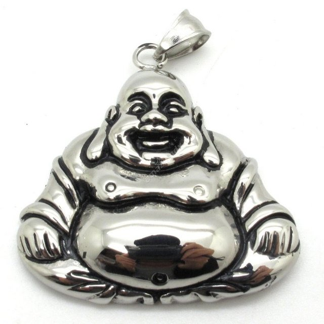 Wholesale mens jewelry stainless steel holy buddhism buddha wholesale mens jewelry stainless steel holy buddhism buddha pendant mens boys silver skull charm aloadofball Images