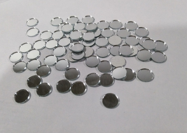 Meya 1x1cm Mini Round Mirrors Mosaic Tiles 1cm Gl Mirror 200pcs Lot