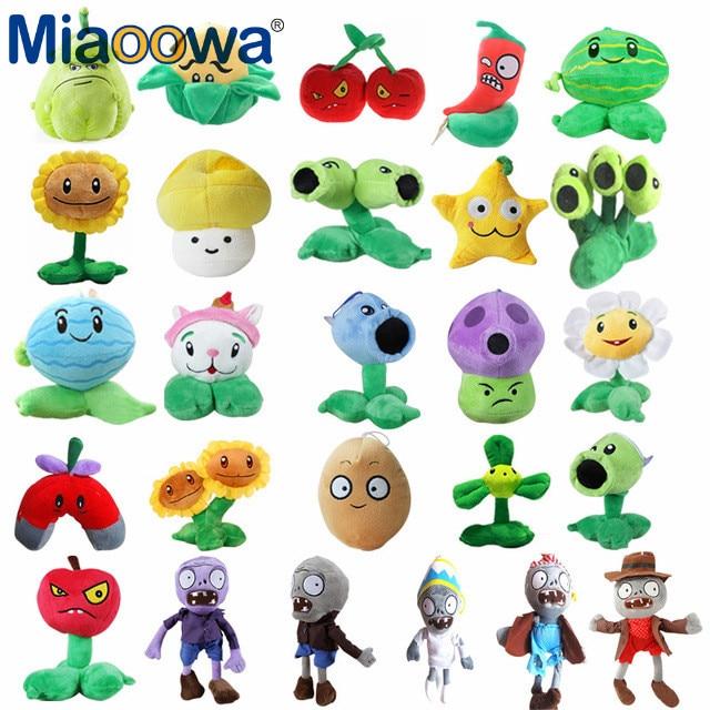 Популярная игра, симулятор растений против зомби, плюшевые игрушки PVZ, мягкие плюшевые игрушки, кукла, детская игрушка для детей, подарки