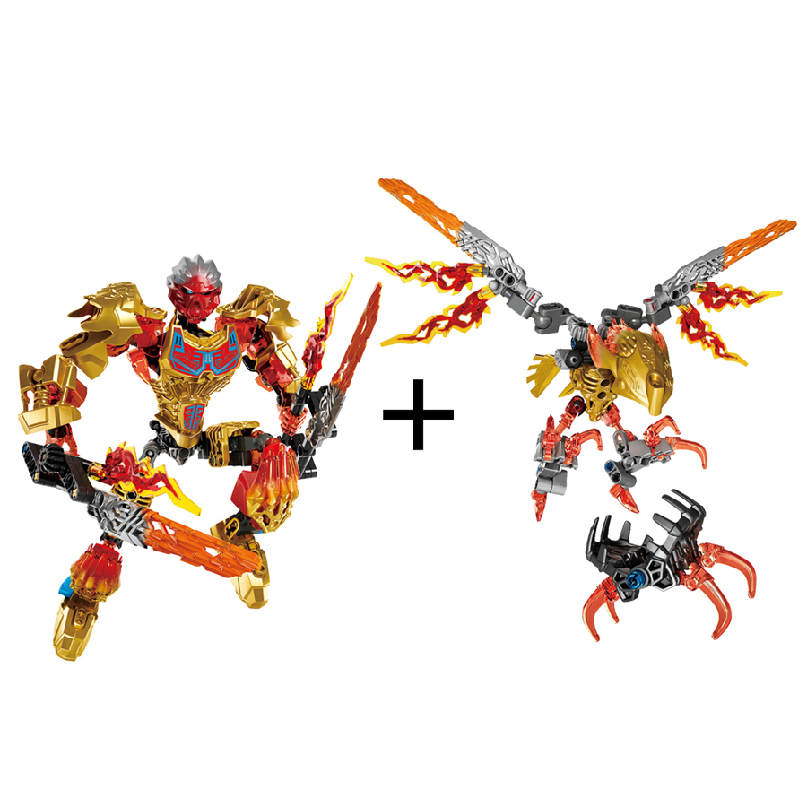 Smartable-BIONICLE-209pcs-Tahu-Ikir-action-figures-612-4-Building-Block-toys-Compatible-legoing-71308-71303