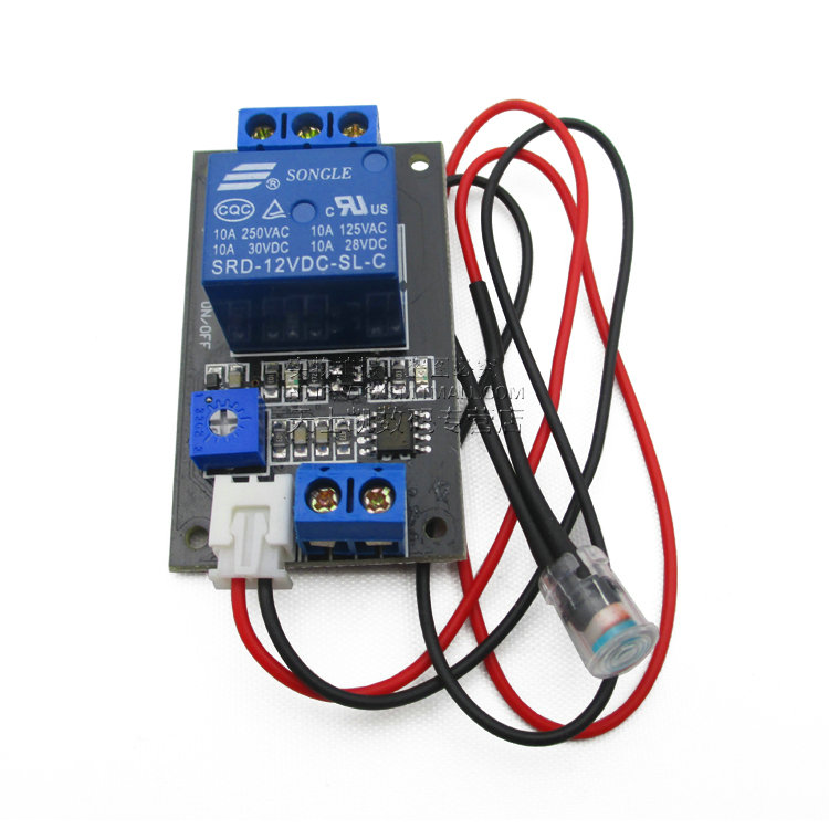 Photosensitive resistance relay control module / optical switch / light sensor module 12V DC12V xh m131 12v photoresistor module photoelectric sensor light sensor light control switch light detection